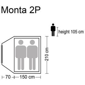 CAMPZ Monta Zelt 2P beige/grey
